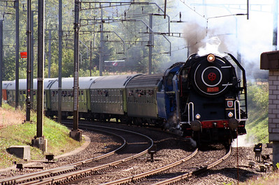 Steam, 475 179 & 498 022 at Arth Goldau on 10th September 2007 (3)