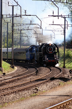 Steam, 475 179 & 498 022 at Arth Goldau on 10th September 2007 (2)