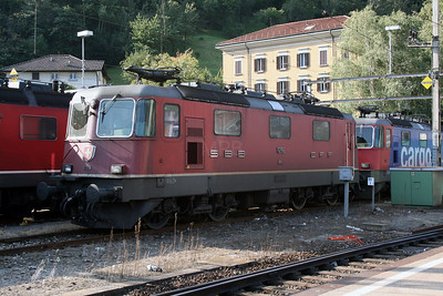 11296 at Bellinzona on 13th September 2007