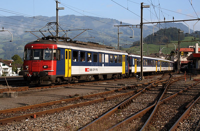 540 071 at Schwyz on 10th September 2007