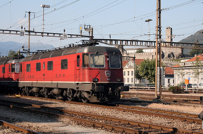 11643 at Bellinzona on 13th September 2007
