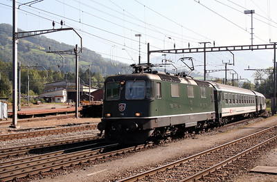 11158 at Arth Goldau on 10th September 2007