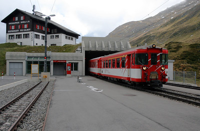 MGB, ABt 4159 at Oberalpass on 11th September 2007