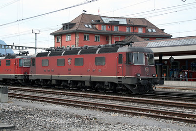 11610 at Arth Goldau on 10th September 2007