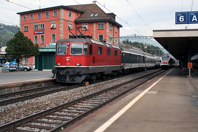 11136 at Arth Goldau on 10th September 2007