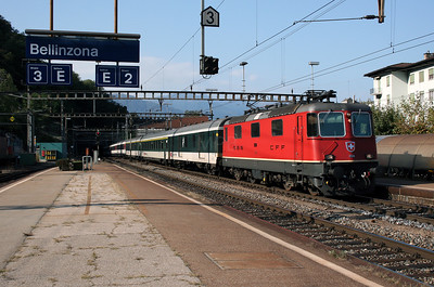 11210 at Bellinzona on 13th September 2007