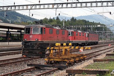 11182 at Arth Goldau on 10th September 2007