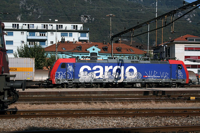 484 007 at Bellinzona on 13th September 2007