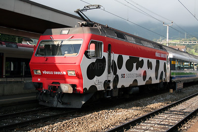 SOB, 456 094 at Arth Goldau on 12th September 2007
