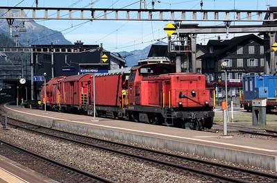 18437 at Erstfeld on 26th August 2010