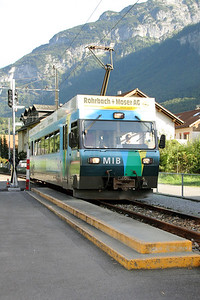 1) MIB, 8 at Meiringen Old station on 26th August 2010