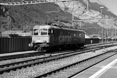 620 042 at Erstfeld on 26th August 2010