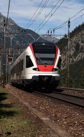 523 019 at Goschenen on 26th August 2010
