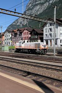 1) Sersa, 843 152 at Erstfeld on 26th August 2010