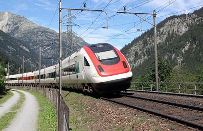 500 0xx at Goschenen on 26th August 2010