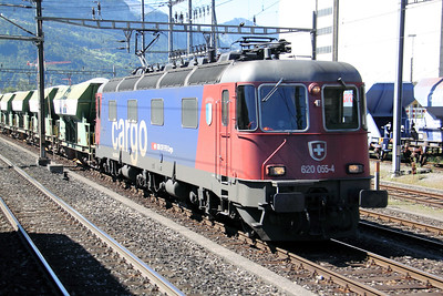 620 055 at Brunnen on 26th August 2010