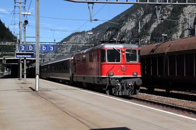 11151 at Goschenen on 26th August 2010