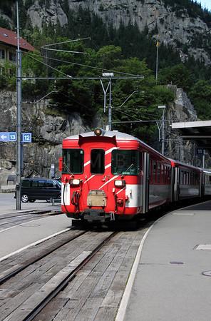 MGB, ABt 4155 at Goschenen on 26th August 2010