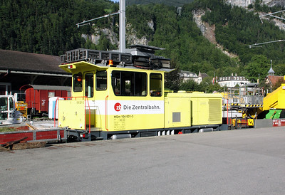2) ZB, 104 001 at Meiringen on 26th August 2010