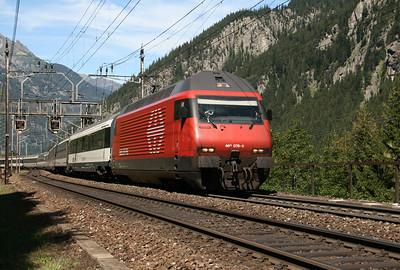460 078 at Goschenen on 26th August 2010
