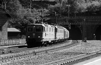 11262 & 11844 at Goschenen on 26th August 2010