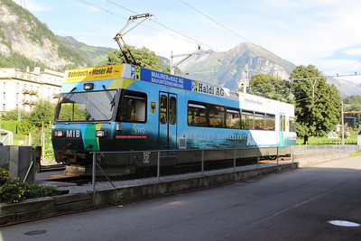2) MIB, 8 at Meiringen Old station on 26th August 2010