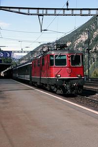11156 at Goschenen on 26th August 2010