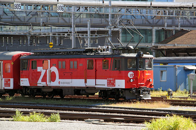 ZB, 110 021 at Luzern on 26th August 2010