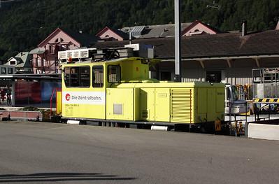 1) ZB, 104 001 at Meiringen on 26th August 2010
