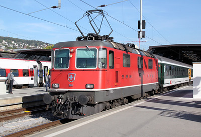 11148 at Zurich HB on 21st September 2011