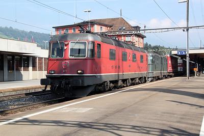 11606 & 11364 at Arth Goldau on 22nd September 2011