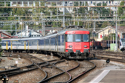 540 040 at Winterthur on 21st September 2011 working 20368