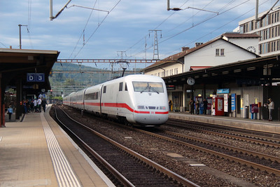 DB, 401 578 (93 80 5401 578-0 D-DB) at Liestal on 16th September 2015