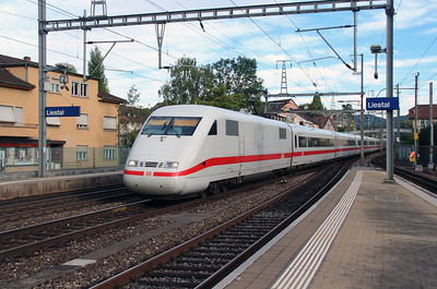 DB, 401 078 (93 80 5401 078-1 D-DB) at Liestal on 16th September 2015