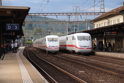 DB, 401 578 & 401 574 at Liestal on 16th September 2015