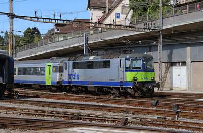 BLS, 420 501 at Bern on 25th September 2015 (2)