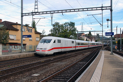 DB, 401 074 (93 80 5401 074-0 D-DB) at Liestal on 16th September 2015