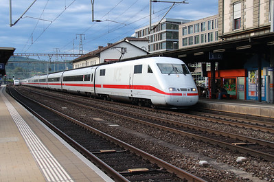 DB, 401 574 (93 80 5401 574-9 D-DB) at Liestal on 16th September 2015
