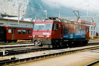 101 967 at Meiringen on 17th September 1999