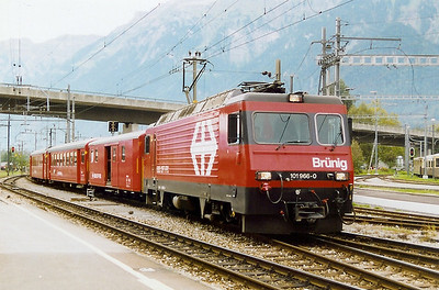 101 966 at Interlaken Ost on 19th September 1999