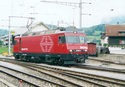 101 968 at Meiringen on 29th August 2003