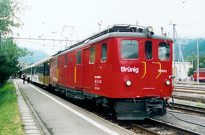 120 011 at Meiringen on 29th August 2003