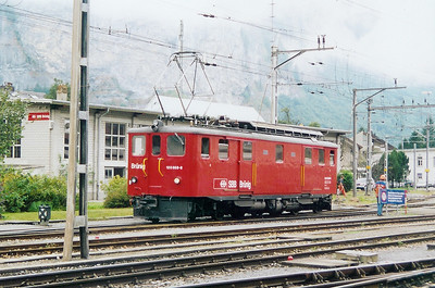 120 008 at Meiringen on 29th August 2003