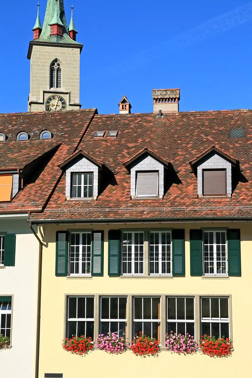 Banks of the river Aare, Bern / Rives de l'Aar, Berne