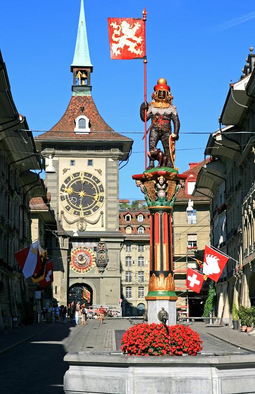 Zahringerbrunnen, Berne / Fontaine de Zähringen, Berne