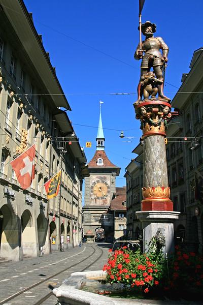Schützenbrunnen, Bern / Fontaine de l'Arquebusier, Berne