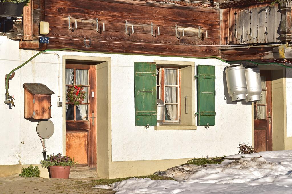 Farmhouse, Lauenen, Gstaad / Ferme, Lauenen, Gstaad