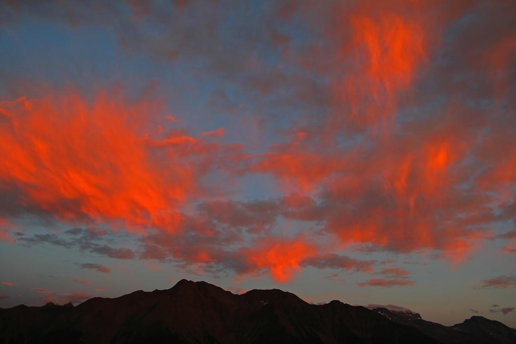 Goms twilight / Crépuscule sur la vallée de Conches