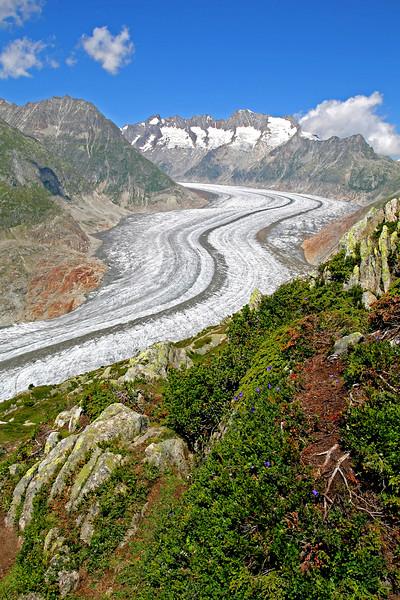 Aletsch glacier / Glacier d'Aletsch