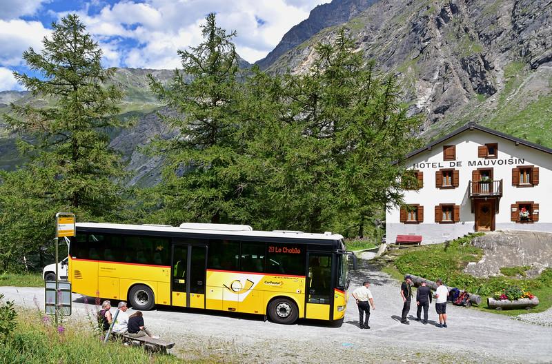Postbus, Val de Bagnes / Car postal, Val de Bagnes